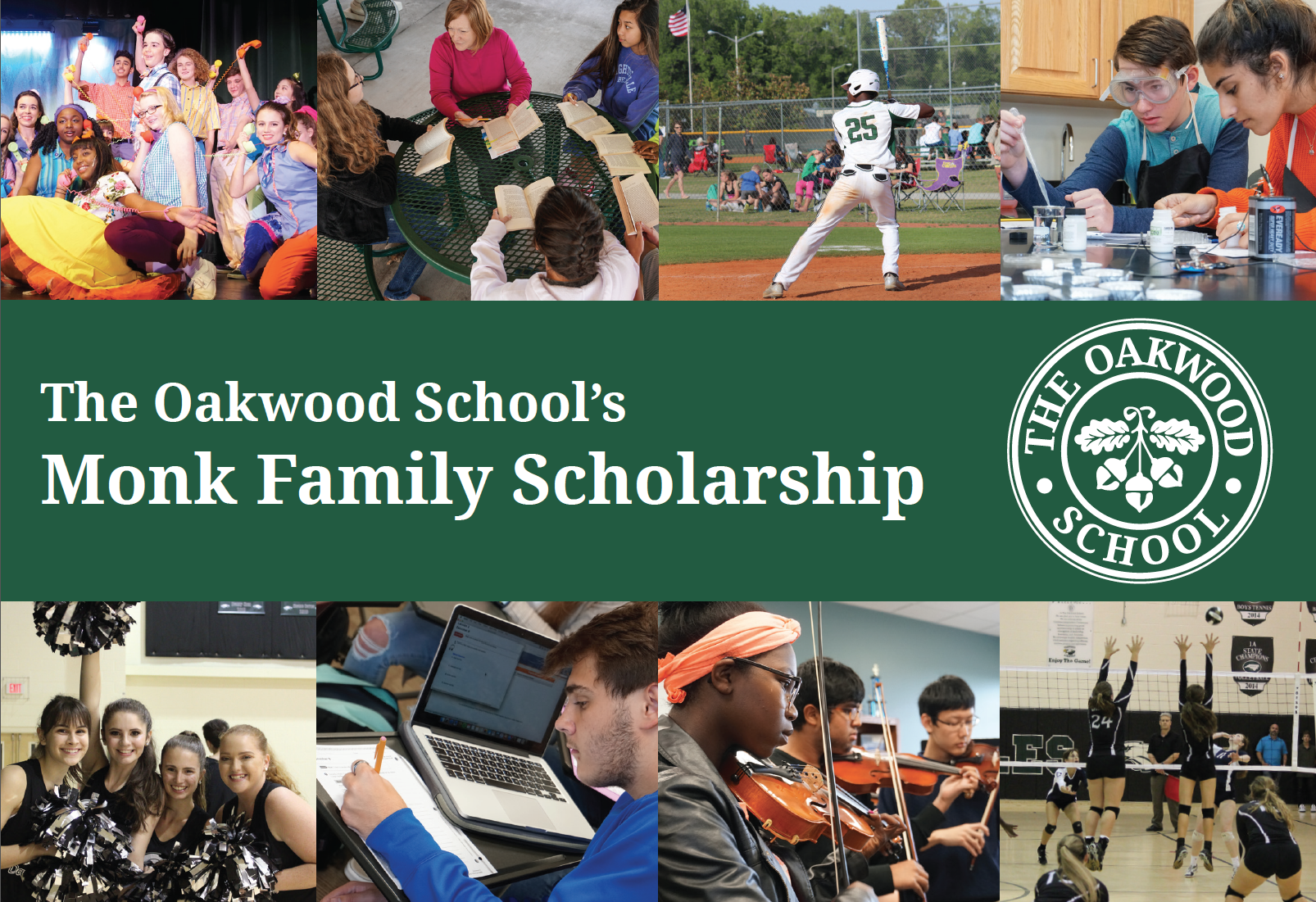 Monk Family Scholarship - The Oakwood School
